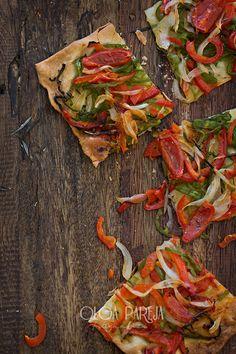 Nina's Kitchen: Coca de verduras