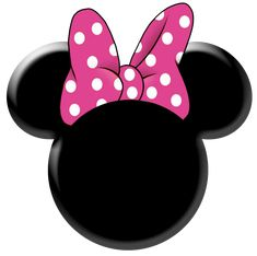 Minnie Mouse Bow Template - ClipArt Best