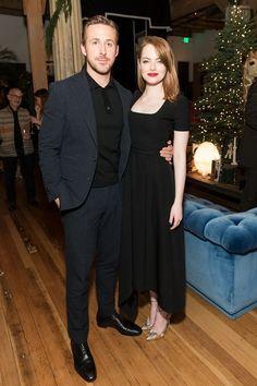 See Ryan Gosling and Emma Stone Schmooze as San Francisco Celebrates La La Land