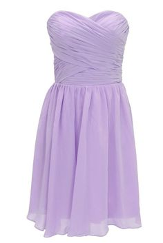 Bridesmaid Dress Short Formal Evening Dress Lavender