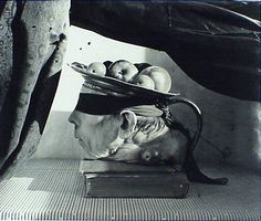 Story from a Book, Paris (1999) by Joel-Peter Witkin. Def not your average still life. #blackandwhite