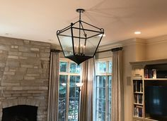 A bit of extra detail goes a long way in the design of the Lorena. A beautiful choice to finish the room. Light, Chandelier, Room, Custom Lighting, Home Decor