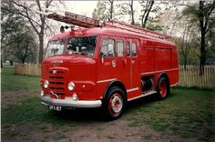 Karrier Gamecock UFX 157 Appliance with Miles Bodywork. This appliance is now preserved in Weymouth Dorset Fire Equipment, Road Train, Fire Apparatus, Fire Safety, Emergency Vehicles, Fire Engine, Ambulance, Fire Trucks, Classic Cars