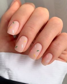 You see, the nails designed in this way are really fashionable - Page 100 of 143 - Inspiration Diary Chic Nails, Stylish Nails, Trendy Nails, Nail Manicure, My Nails, Nail Polish, Glitter Nails, Gel Nail, Colorful Nail