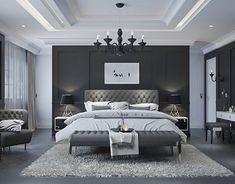 Sypialnia/Bedroom/Schlafzimmer Breaking Mold's Grip On Your Home Your walls may be alive-and not wit Modern Luxury Bedroom, Luxury Bedroom Design, Master Bedroom Interior, Modern Master Bedroom, Bedroom Bed Design, Luxury Rooms, Luxurious Bedrooms, Home Decor Bedroom, Home Interior Design