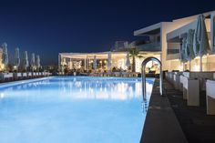 This is a gallery with various photos of the exterior of Aloe Boutique & Suites five star hotel in Almyrida Chania Crete. Five Star Hotel, Aloe, Photo Galleries, Exterior, Boutique, Mansions, House Styles, Gallery