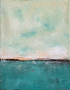 beautiful abstract seascape art pieces.