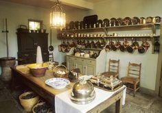 Basement Kitchen, Georgian House, Charlotte Square, Edinburgh. Photo National Trust for Scotland