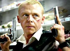 Simon Pegg - Hilarious Brit  Run, Fat Boy, Run  Shaun of the Dead  Star Trek  Hot Fuzz  Spaced
