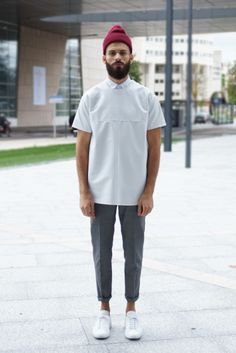 · Tee leather Vmu London · Pant Sandro  · Sneakers Common projects (achilles)