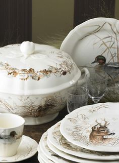 Sologne Dinnerware by Gien   Gracious Style