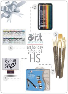 Holiday Gift Guide for Serious High School Art Students