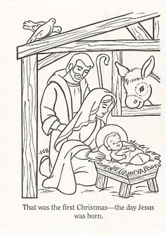 LDS Nursery Color Pages: Christmas Lesson Lds Coloring Pages, Nativity Coloring Pages, Coloring Books, A Christmas Story, Christmas Colors, Christmas Crafts For Kids, Christmas Nativity, Christmas Fun, Christmas Ornaments
