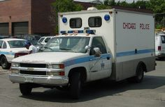 "Photo: IL - Chicago Police Squadrol | Illinois album | copcar dot .. affectionately nicknamed the ""Paddy Wagon""."
