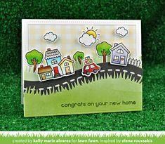 Lawn Fawn Intro: Happy Village - Lawn Fawn