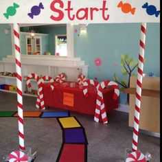 Our Candy Land Expo Center!