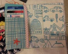 Running With Rocket: Last Minute Sewing    Passport Wallet