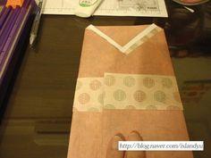 돈봉투 접기 방법- 추석맞이 돈 봉투 : 네이버 블로그 Origami, Napkins, Tableware, Dinnerware, Towels, Dishes, Origami Paper, Origami Art