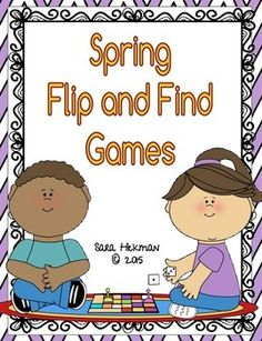 Kids just love games. They don't even realize they are learning! Time for Springtime letter and number flip and find matching games.Who can play Preschool  Homeschool KindergartenLet's Play!Game cards for both letters and numbers are included. Two versions of letter cards are included in both upper and lower case.Single image on all cardsStarting sound (ending for x) images ant butterfly clouds dragonfly egg firefly grass hat insect jump kite leaf mud nest over pond queen bee rainbow…