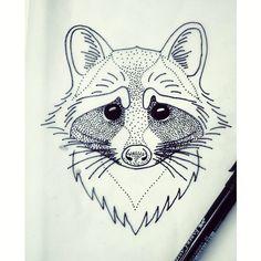 #raccoon #raccoontattoo #tattoo #tattoosketch #blacktattooart #blackworkers #iblackwork #blackndark #blxckink #onlyblackart #linetattoo #linework #linesanddots #dotart #dotwork #dotworktattoo #dotstyle #symmetry #geometry #pointillism #stippling #minimalism