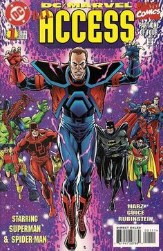 """DC/Marvel: All Access (1996) - #1 """"The Crossing!"""""""
