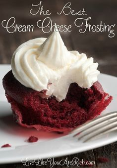 Delicious, Quick, and Time Tested (been in the family for over 35 years) cream cheese frosting recipe.