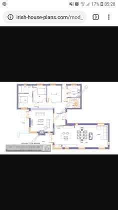 Types Of Houses, House Plans, How To Plan, House Floor Plans, Home Plans