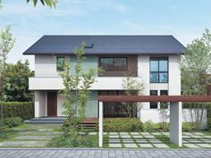 二世帯住宅の外観 イメージ