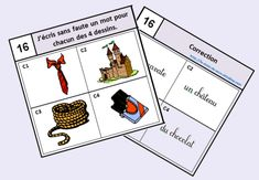 Monopoly, Playing Cards, Education, Games, School, Cycle 2, Voici, Word Reading, Writing Words