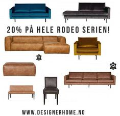 Grip sjansen til å sikre deg bestselgerne. Sofa, Couch, Rodeo, Furniture, Home Decor, Settee, Settee, Decoration Home, Room Decor