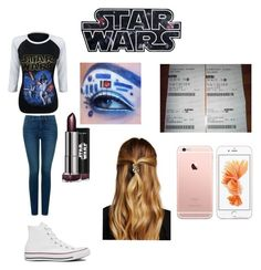"""May the force be with you"" by imaray98 ❤ liked on Polyvore featuring NYDJ, Converse, Natasha Accessories, women's clothing, women's fashion, women, female, woman, misses and juniors"