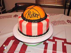 Indiana Hoosiers Basketball Theme Cake... Coolest Birthday Cake Ideas