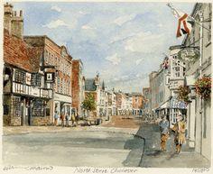 Chichester - North Street - Portraits of Britain