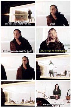 I can't stand seeing Loki sad