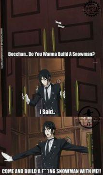 sebastian michaelis, from kuroshitsuji/black butler M Anime, Anime Meme, Anime Stuff, Anime Girls, Manga Xd, Manga Girl, Black Butler Funny, Black Butler Quotes, Black Butler Comics