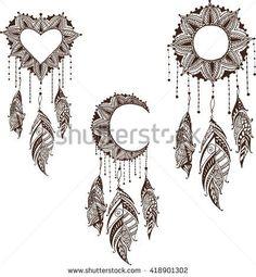 Výsledok vyhľadávania obrázkov pre dopyt mandala feather drawing