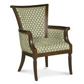 Found it at Wayfair - Traditional Trimmed Wingback Chair