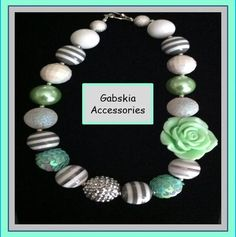 Mint Chuncky Necklace only $15.00  http://www.gabskia.com/store.php#!/~/product/category=5192045=21804150