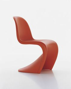 Perfect chair for Marina City.  Can be used indoors and out, stacks up and has sexy curves.