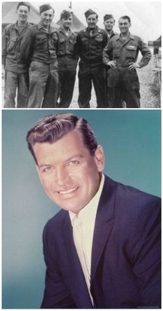 RICHARD EGAN=WW2- Captain who was a judo, bayonet and knife fighting instructor.(far left)  Actor
