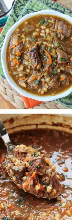 Crock Pot Recipes, Crock Pot Soup, Slow Cooker Soup, Crock Pot Cooking, Slow Cooker Recipes, Beef Recipes, Cooking Recipes, Recipies, Crock Pots