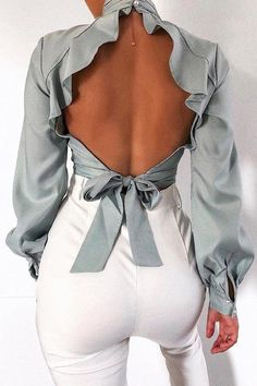 Details: Material: Polyester Size(in) Length Bust S 16.93 34.64 M 17.32 36.22 L 17.71 37.79 XL 18.11 39.37 Trend Fashion, Look Fashion, Womens Fashion, Fashion Design, Fashion Details, 2000s Fashion, Classic Fashion, Diy Fashion, Fashion Ideas