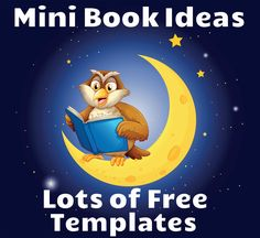 Ideas and Templates for Creating Mini Books by readteacher: Fun and easy to implement, mini books are a great way for children to present their knowledge or research about a topic.  #Kids #Writing #Mini_Books