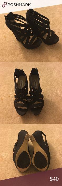 👠 Steve Madden Xcess Wedge Sandal / Size 6 👠 Steve Madden Xcess Wedge Sandal / Size 6 / Good Condition Steve Madden Shoes Wedges