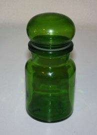 green retro bottles, I still have mine & I still use it. I use it all the time it belonged to my Mom.
