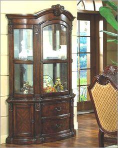McFerran Home Furnishings   Buffet And Hutch In Classic Cherry    MCFD5002 HB | Great