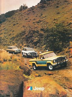 Not a Land Rover but great ad anyway. 1980 Jeep J-10.