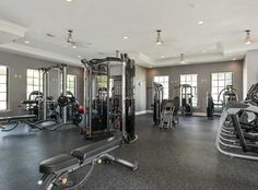 No excuses when your gym is at home! Enjoy a fully-equipped fitness center at AMLI Toscana Place apartments in Davie, FL