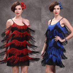 Performance Stage Dance Wear Women Latin Dress Women Woman Latin Costume Dresses Tango Samba Fringe Cha Cha Dancewear 3 Color