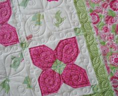 LOVE this altered snowball block!